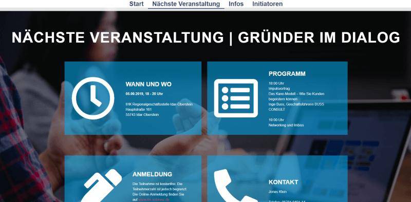 webdesign gruender-im-dialog